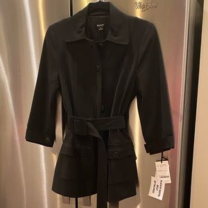 WORTH Jacket with Belted Waist